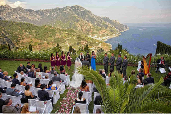 The Amalfi Coast Has A Duomo Which Is One Of Ancient Marriage Halls In Italy This Place To Choose If You Want Your Wedding Hold